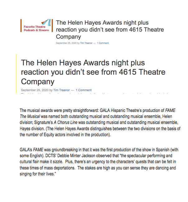 The Helen Hayes Awards